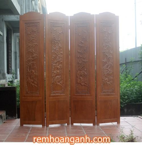 Sản phẩm bình phong này khi kết hợp với các sản phẩm nội thất bằng gỗ khác trong nhà như bàn ghế hoặc tủ gỗ chắc chắn là một gợi ý tuyệt vời dành cho bạn.