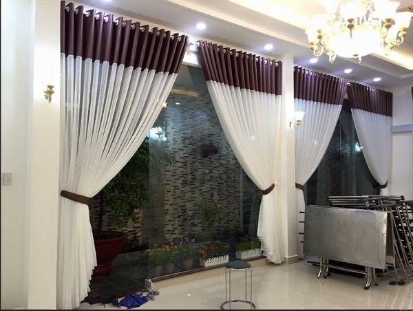 Rèm cửa với thiết kế sang trọng